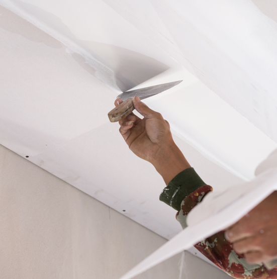 Scraping a Ceiling, Ceiling Repairs